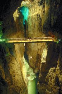 Brisge in the Skocjan Caves