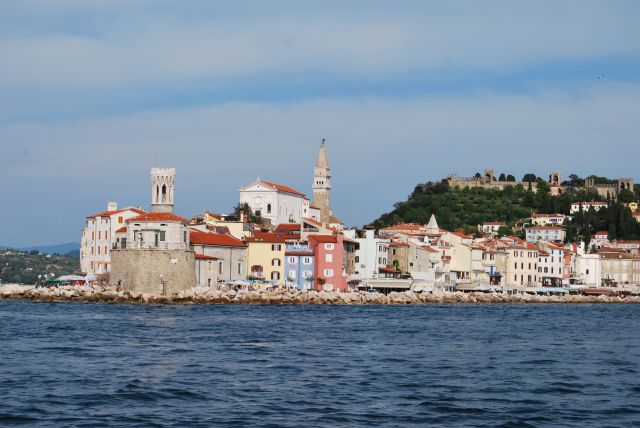 Panoramic Slovenian Coast & Piran